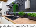 Interior of premium domestic appliance store 65740645