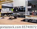 Interior of premium domestic appliance store 65740672