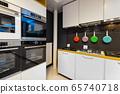 Interior of premium domestic appliance store 65740718