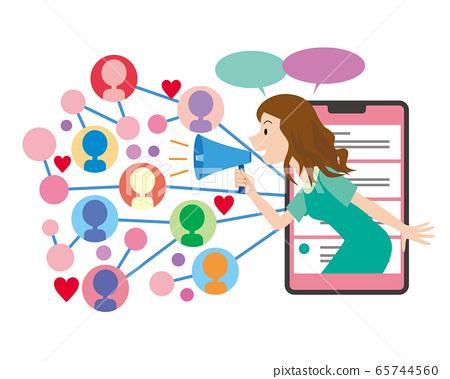 影響者廣告營銷影響力網吸引客戶 65744560