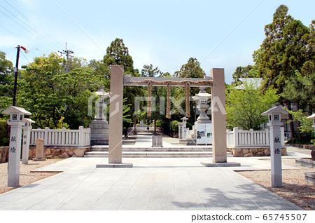 Hanshin Tigers victory prayer Hirota Shrine 65745507