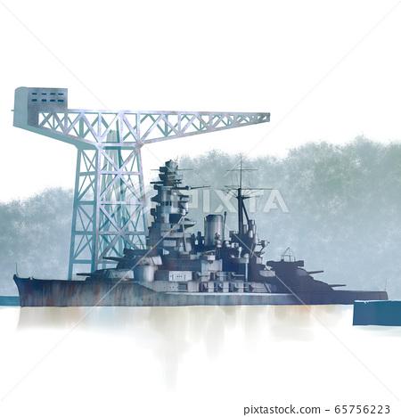 長門戰艦 65756223