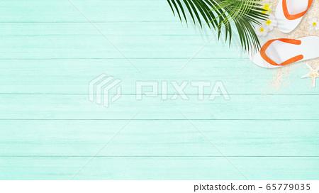 배경 - 모래 - 블루 65779035