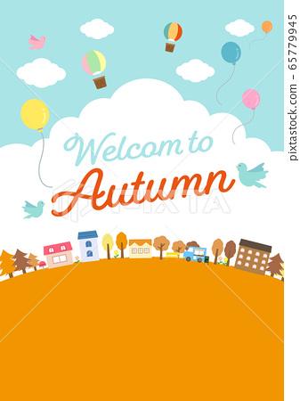 房屋與自然景觀(秋季) 65779945