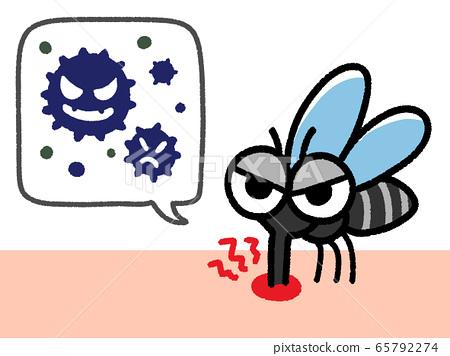 吸血蚊子和氣球細菌 65792274