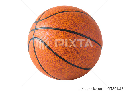 Basketball isolated on a white background 65808824