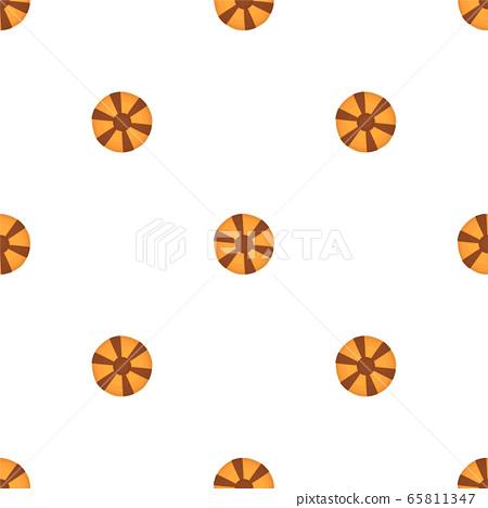 Illustration on theme big set identical biscuit, 65811347