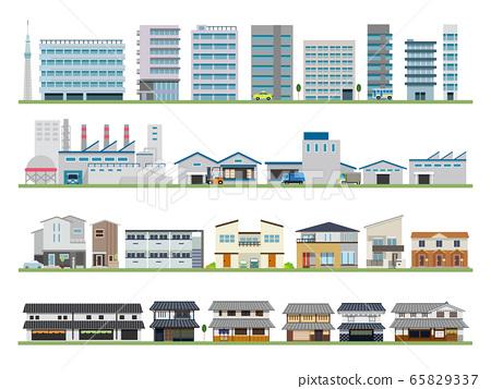건물 빌딩 공장 주택 고민가 65829337