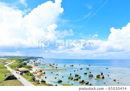 沖繩縣宮古島東平安崎的風景 65830454