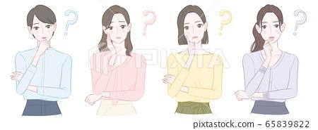 想知道四個女人的插圖 65839822