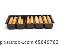 cookie rolls isolated 65849782
