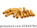 cookie rolls isolated 65849784