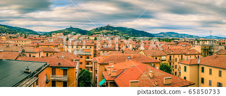 Rooftops of Bologna 65850733