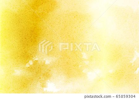 水彩紙黃金背景 65859304