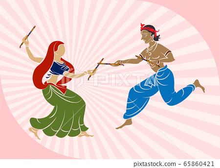 Garba Indian Dance 65860421