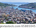 Onomichi cityscape seen from Senkoji (Onomichi City, Hiroshima Prefecture) 65865045