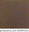 Background material series brown / orange dot pattern 65865261