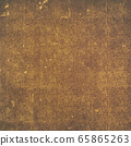 Background material series --- Grunge brown plant pattern 65865263