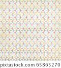Background material series --- Grunge retro vintage pattern cross 65865270