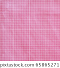 Background material series --- Rare pattern with pink fabric, separated by 9x9 squares 65865271