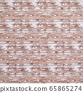 Background material series --- Battered decayed wood flooring 65865274