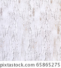 Background material series --- A material that is painted white on a wooden wall, but has deteriorated and deteriorated due to aging. 65865275