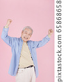 Happy senior life concept. Healthy activities in daily life of senior couple 395 65868658