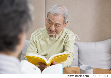 Happy senior life concept. Healthy activities in daily life of senior couple 314 65868893
