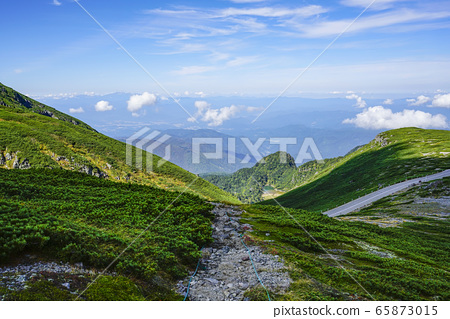 大黒岳보다 大丹生池 방면 희망 65873015