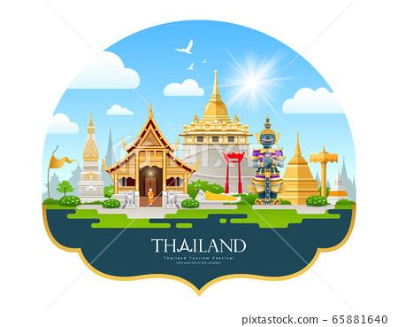 Welcom to Travel Thailand building landmark beautiful  65881640