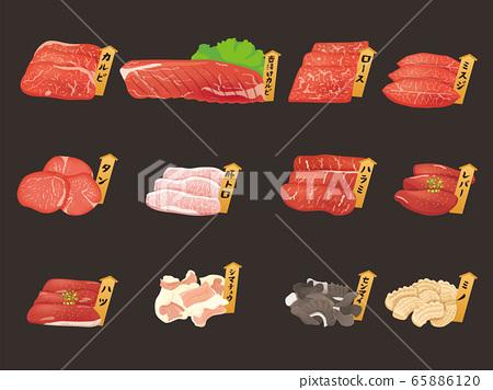 烤肉盤部分 65886120