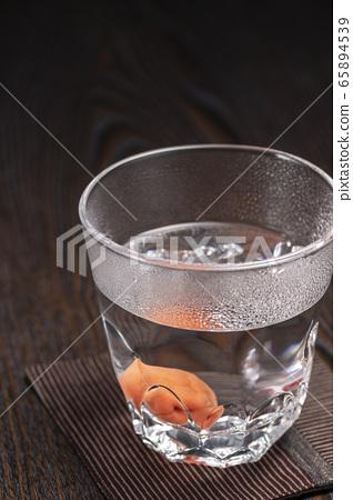 소주 물을 자주 우메보시 65894539