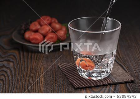 소주 물을 자주 우메보시 65894545