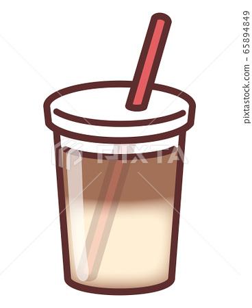 Cafe au lait 65894849