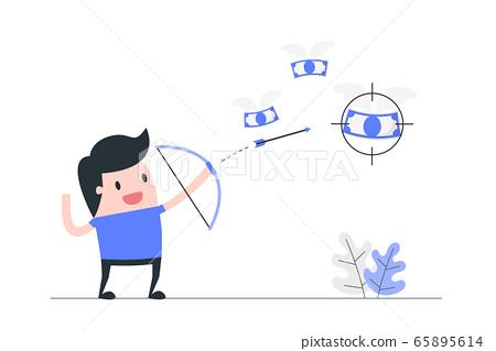 Focus concept illustration. 65895614