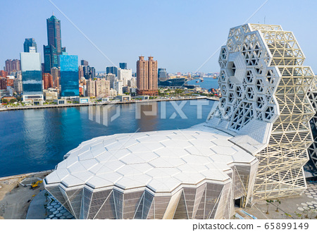 高雄港城市景觀Kaohsiung, Taiwan, Kaohsiung Port, Cityscap 65899149
