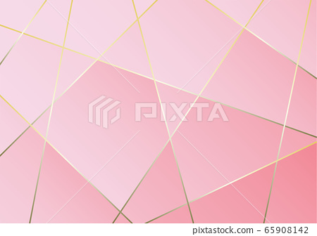 Abstract pink and gold luxury background. 65908142