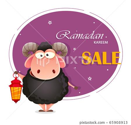 Eid al-Adha Mubarak. Traditional Muslim holiday 65908913