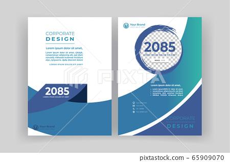 報告,小冊子,書的封面,書的封面模板 65909070