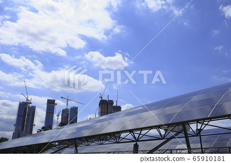 太陽能板視圖 65910181