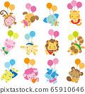 動物氣球 65910646