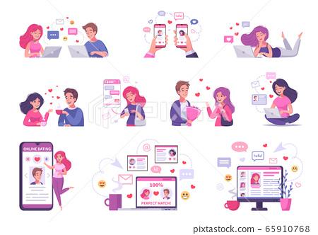 Virtual Relationship Compositions Set 65910768