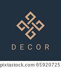 ornament monogram logo 65920725