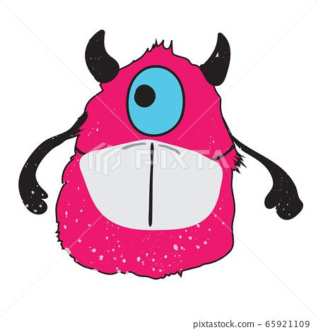 Monster mask vector character design 65921109