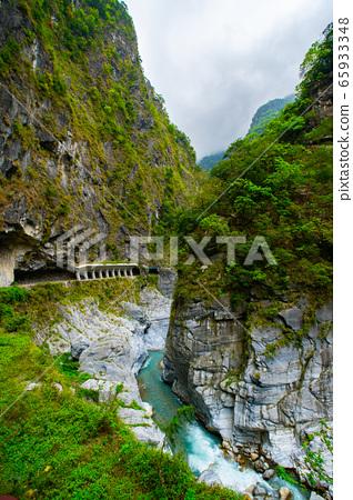 臺灣花蓮太魯閣峽谷Taiwan hualien taroko valley landscape 65933348