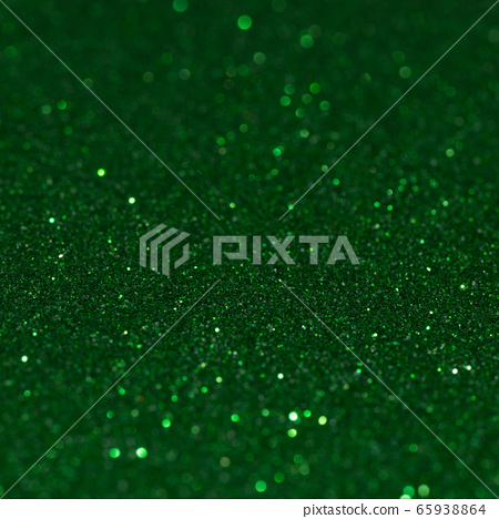 Green glitter background 65938864