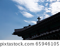 Roof and sky of Hanok Cathedral 65946105