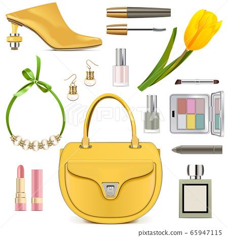 Vector Spring Female Accessories Set 3 65947115