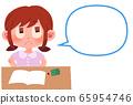 學習的女孩 65954746