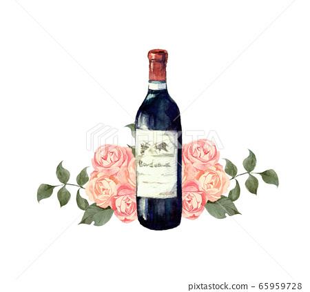 와인과 장미 65959728